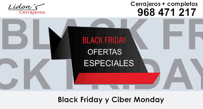 cerrajeria lidons black friday cyber monday